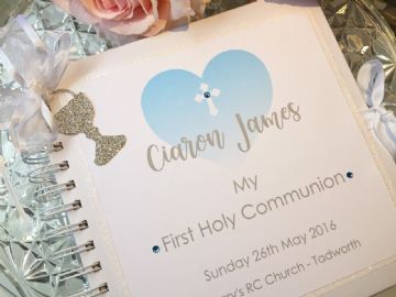 Personalised 1st Holy Communion Guest Book/Album